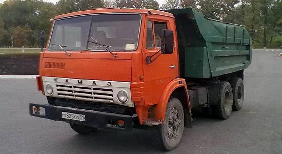 КамАЗ-5511 (самосвал) на IronHorse.ru ©