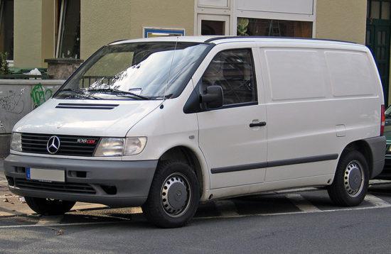 фургон Mercedes-Benz Vito (W638)