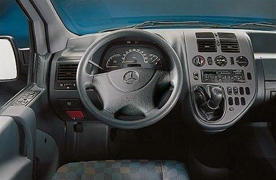 передняя панель и центральная консоль Mercedes-Benz Vito Van (W638)