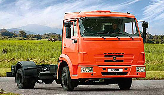шасси КамАЗ-4308 (новый)