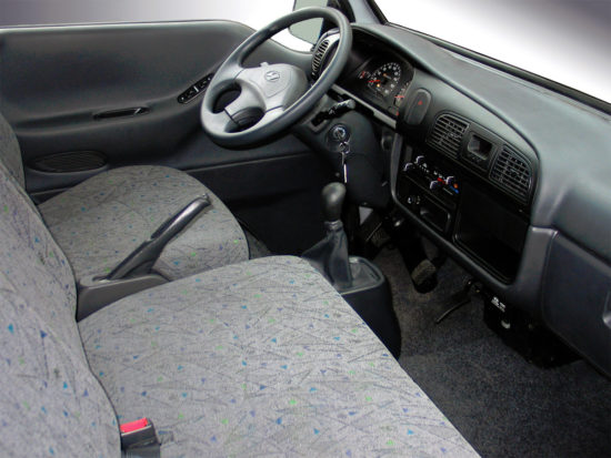 интерьер кабины Hyundai Porter 3 (ТагАЗ)