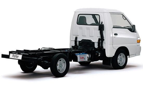 шасси Hyundai Porter 3