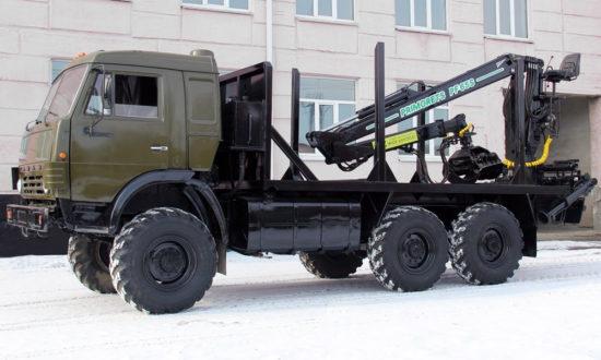 новый лесовоз КамАЗ-4310