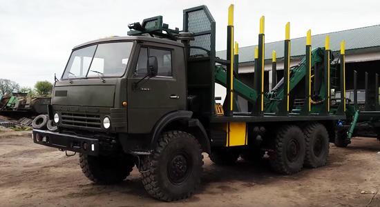 КамАЗ-4310 (сортиментовоз) на IronHorse.ru ©