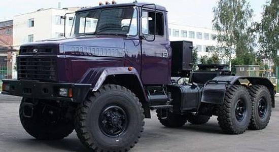 КрАЗ-6446 (тип 2) на IronHorse.ru ©