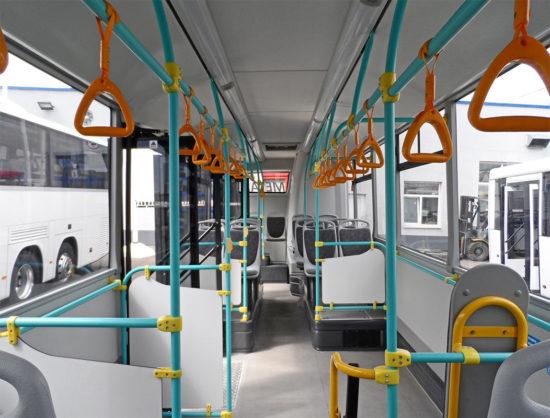 пассажирский салон городской модификации автобуса НефАЗ-5299