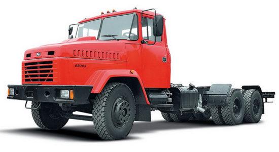 КрАЗ-65053 (шасси) на IronHorse.ru ©