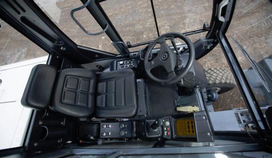 в кабине оператора ТВЭКС ЕК-14 (RM-TEREX)