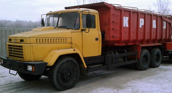 КрАЗ-6230C4 (самосвал) на IronHorse.ru ©