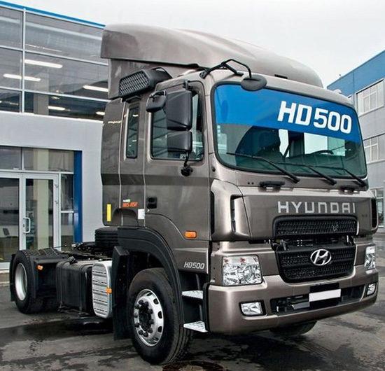 седельный тягач Hyundai HD500