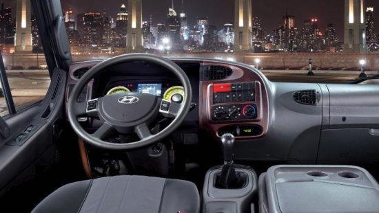 передняя панель Hyundai HD120