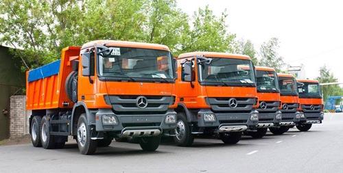 Нефтекамский автозавод начал производство самосвалов Mercedes-Benz на IronHorse.ru ©