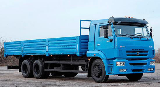 новый КамАЗ-65117 (бортовой)