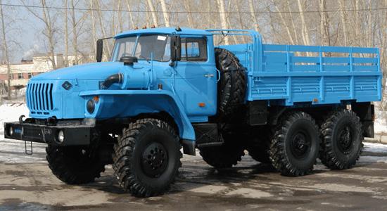 Урал-4320 на IronHorse.ru ©