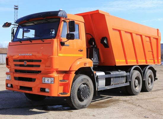 КамАЗ-6520 (новый самосвал)