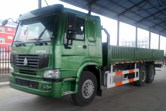 бортовой грузовик ХОВО 6х4