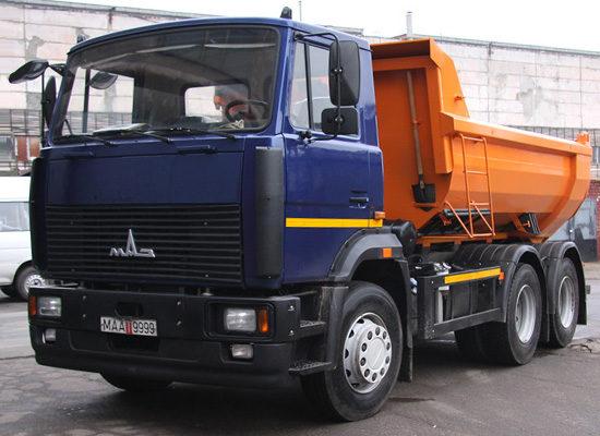 МАЗ-5516 (короткая кабина)