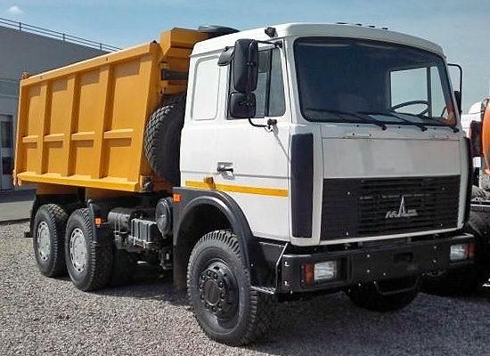 МАЗ-5516 (кабина со спальником)