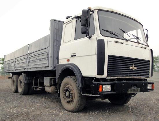 бортовой МАЗ-6303