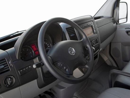 интерьер салона VW Crafter 1 Van