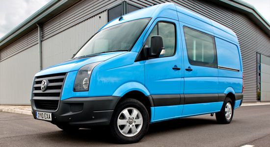 VW Crafter Van (2006-2016) на IronHorse.ru ©