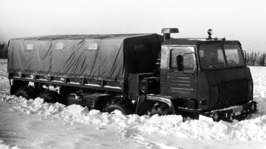 первый опытный образец КрАЗ-6316 Сибирь