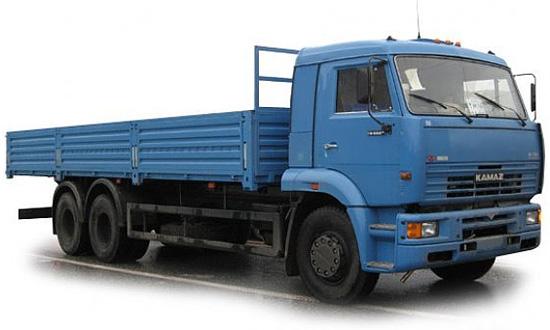 бортовой КамАЗ-65117 (дорестайлинговый)