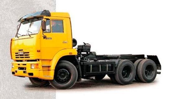 шасси КамАЗ-65111