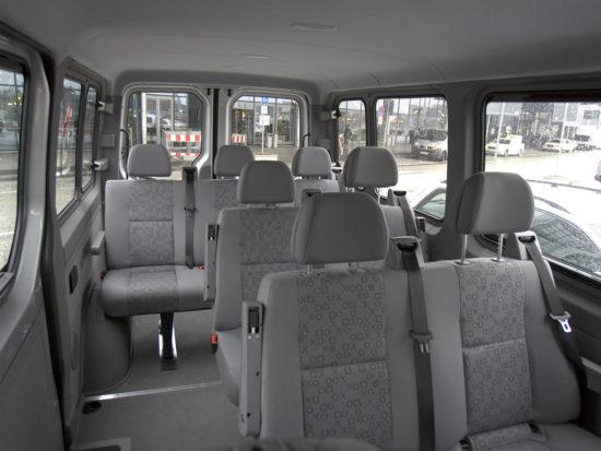 интерьер салона VW Crafter 1 Bus