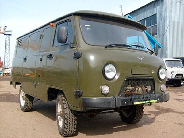 цельнометаллический фургон УАЗ-3741