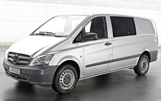 грузопассажирский Mercedes-Benz Vito Mixto (W639)
