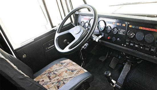 КрАЗ-65055 (в кабине)
