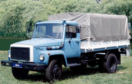 тентованный ГАЗ-3309