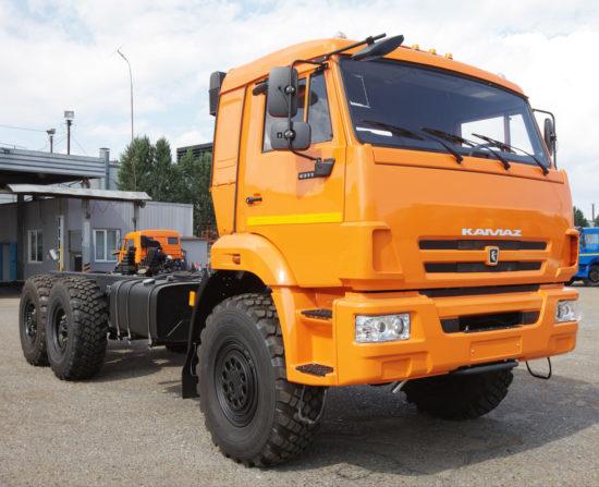 новый КамАЗ-43118