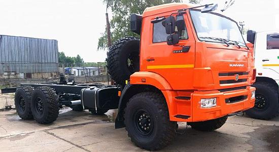 КамАЗ-43118 (новый) на IronHorse.ru ©