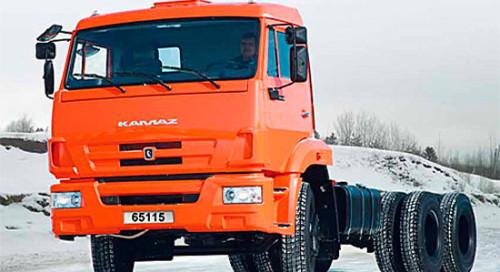 КамАЗ-65115 шасси (новый) на IronHorse.ru ©