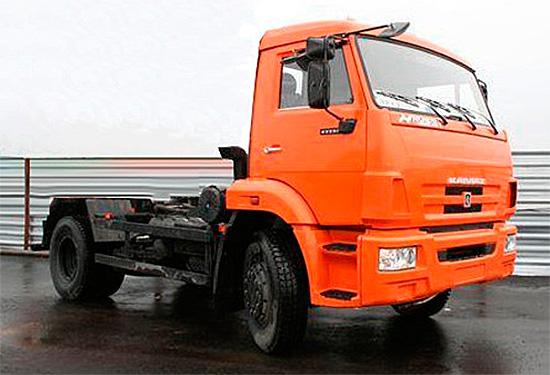 шасси КамАЗ-43255