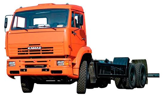 шасси-тягач КамАЗ-6520-19