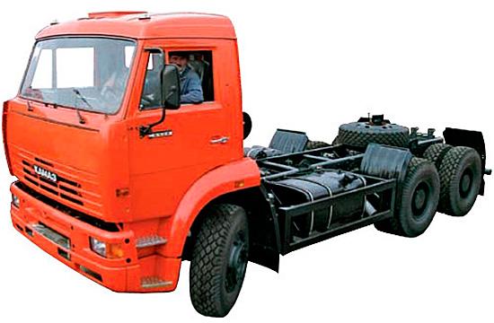 шасси КамАЗ 6520-60
