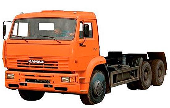 шасси КамАЗ-6520-61
