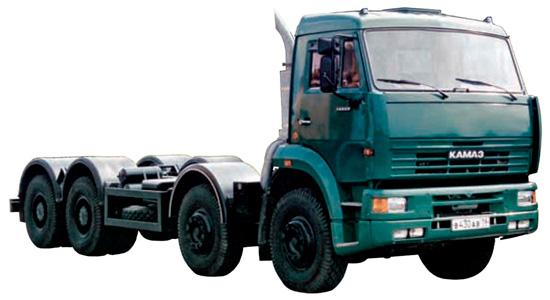 КамАЗ-65201 шасси (дореформенное)