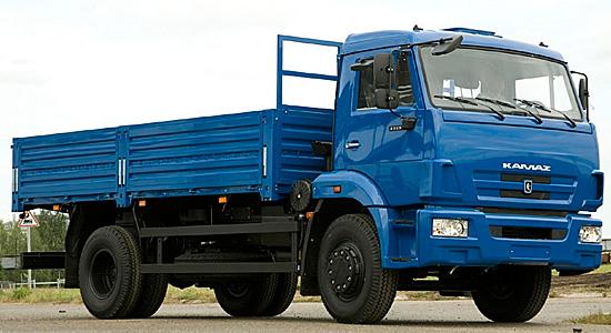 новый КамАЗ-43253