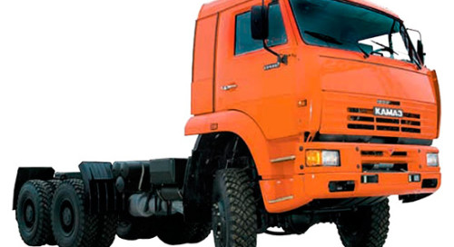 КамАЗ-6522 шасси (дореформенный) на IronHorse.ru ©