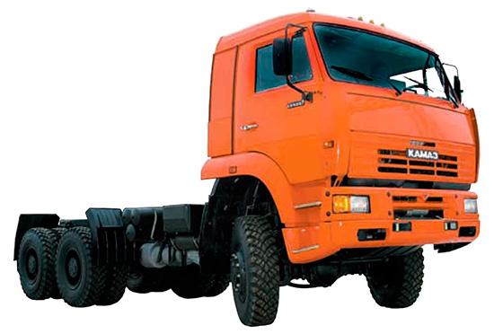 КамАЗ-6522 (дореформенное шасси)
