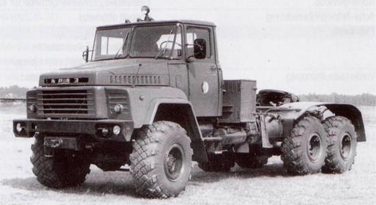 КрАЗ-260В (седельный тягач) на IronHorse.ru ©
