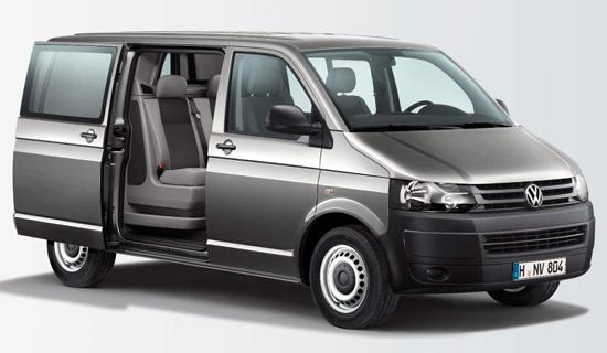 Volkswagen Transporter Kombi Doka Plus T5