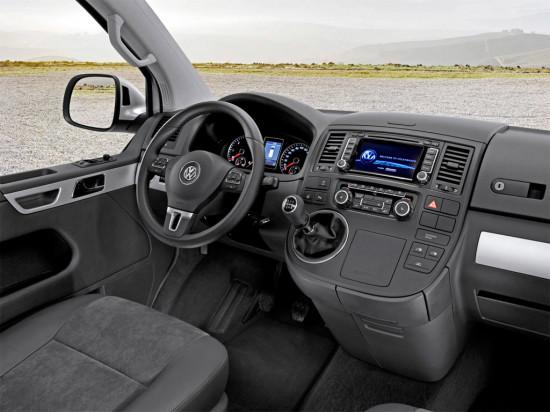 интерьер Volkswagen Transporter Kombi
