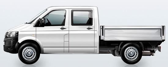 бортовой Фольксваген Транспортер Т5 с двойной кабиной