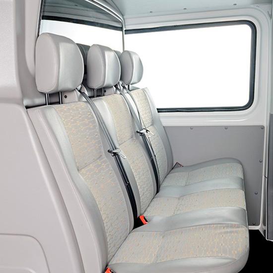 второй ряд сидений Volkswagen Transporter T5 Kasten