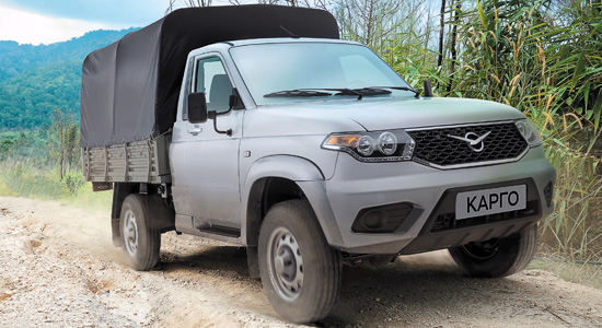 УАЗ Cargo (23602) на IronHorse.ru ©